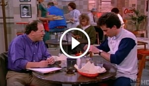 Seinfeld - 'The Very First Scene' From Season 1 Episode 1 in 1989