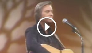 George Jones - 'He Stopped Loving Her Today' Live