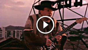 Stevie Ray Vaughan - 'Crossfire' Music Video