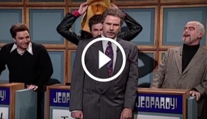 90's Celebrity Jeopardy on Saturday Night Live - French Stewart, Burt Reynolds and Sean Connery
