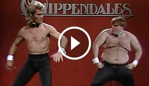 SNL's Chippendales Audition Featuring Patrick Swayze and Chris Farley