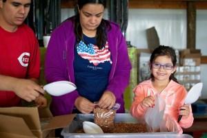 volunteering_ my 5-year-old daughter