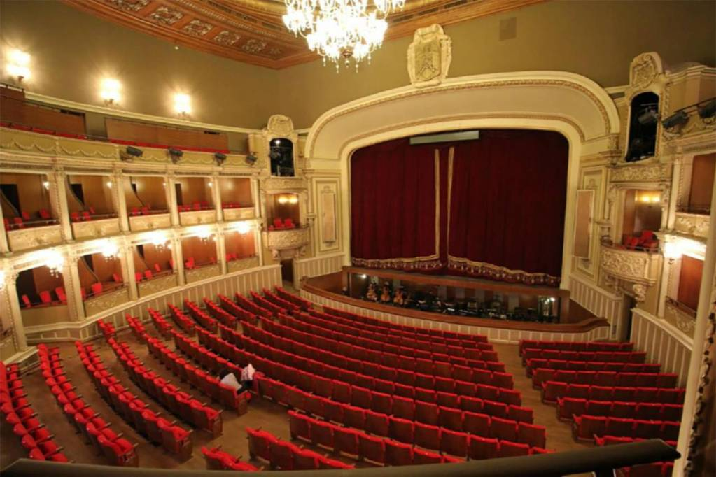 Bucharest National Opera House where Toni Makhoul will perform