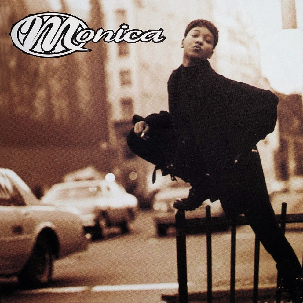Monica, Miss thang, album cover