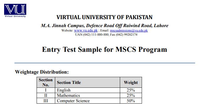 Pakistan virtual pdf university lectures