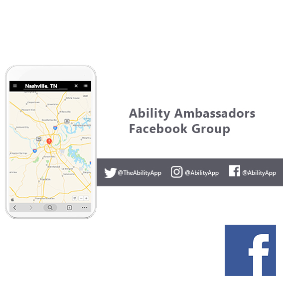 Ability Ambassadors Facebook Group