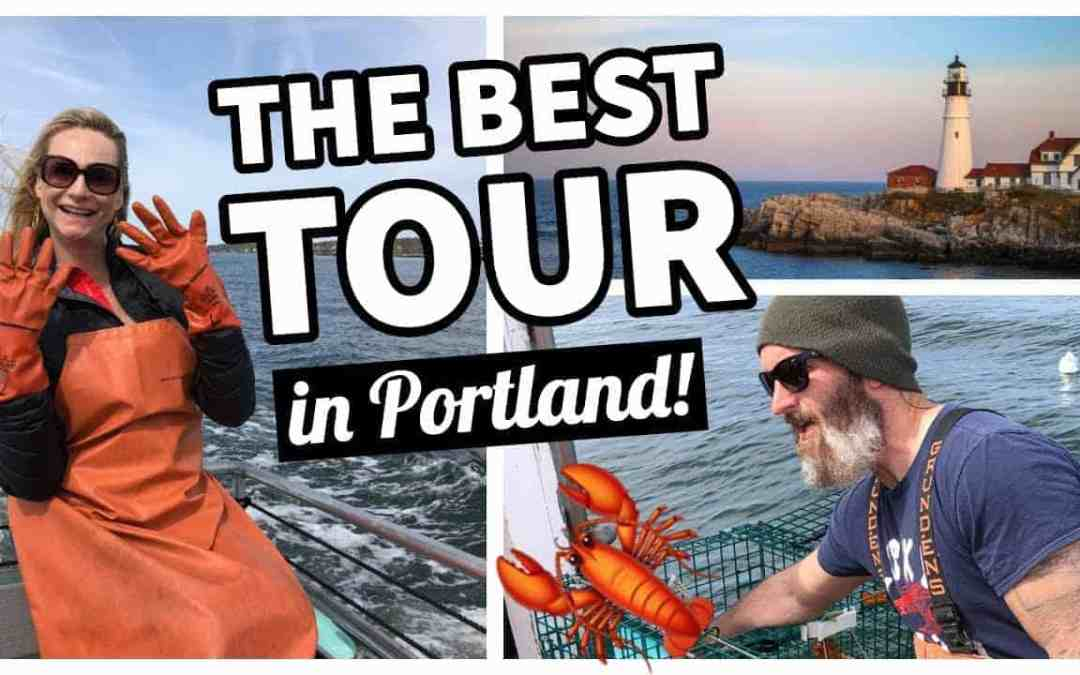 THE BEST LOBSTER BOAT TOUR IN PORTLAND, MAINE