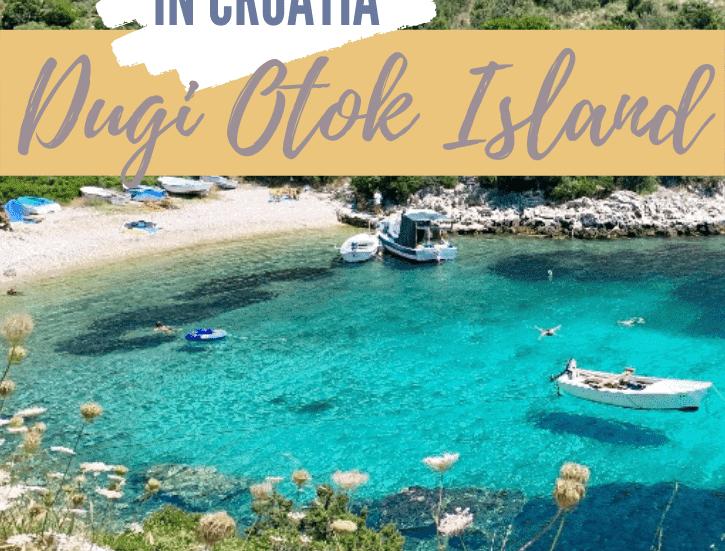 Best Island in Croatia, Dugi Otok, Pinterest Pin, The Abundant Traveler