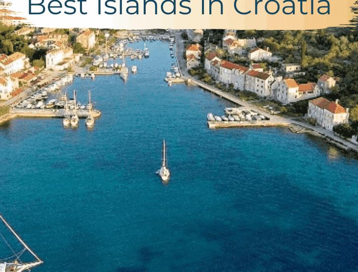 Best Islands in Croatia, Zlarin, Pinterest Pin, The Abundant Traveler