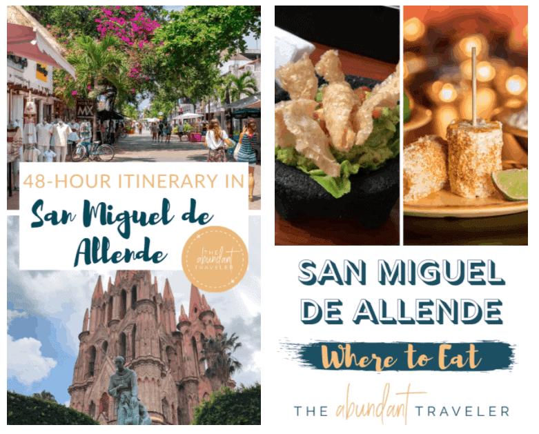 Abundant Travel Tips: Cinco de Mayo & First Trip Overseas