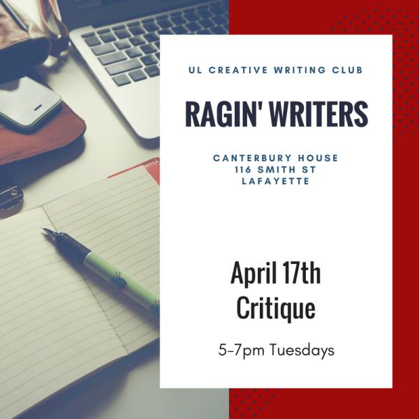 Ragin' Writers UL Creative Writing Club