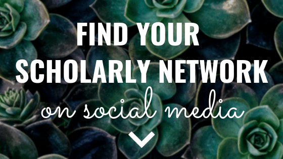 Find Your Scholarly Network on Social Media