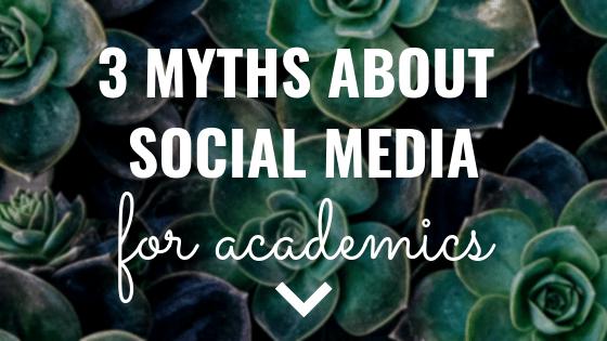 3 myths about social media
