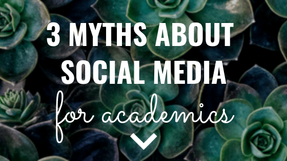 3 myths about social media