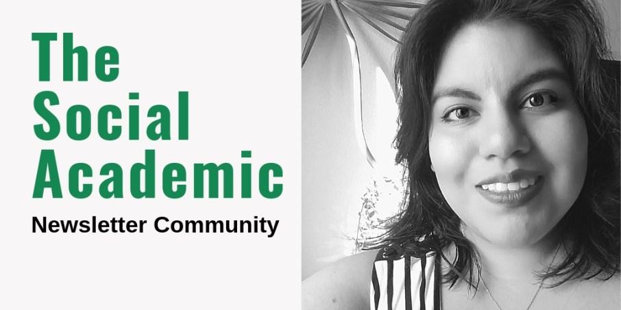 The Social Academic Newsletter Community
