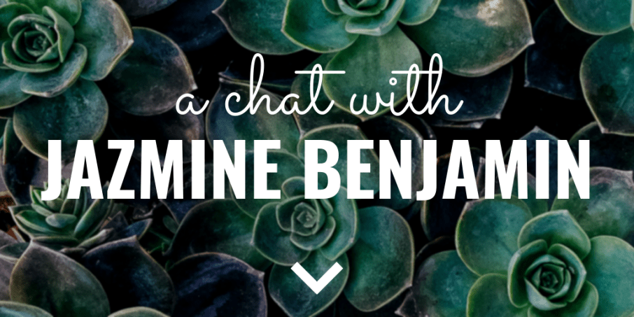 A chat with Jazmine Benjamin