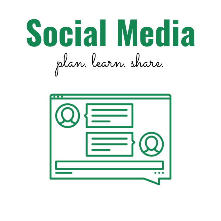 Social Media: Plan. Learn. Share.