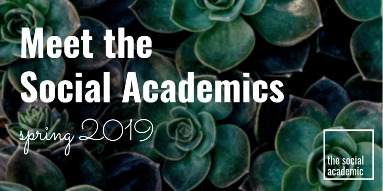 Meet the Social Academics Spring 2019