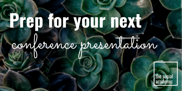 Prep for your next conference presentation