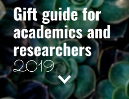Gift Guide for Academics and Researchers 2019