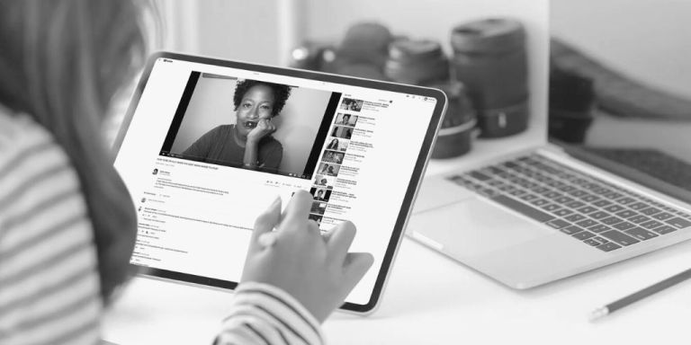 Ruth C. White on YouTube talks allyship