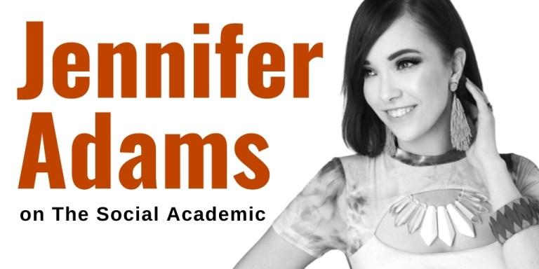 Jennifer Adams @RunwayRedLA on The Social Academic