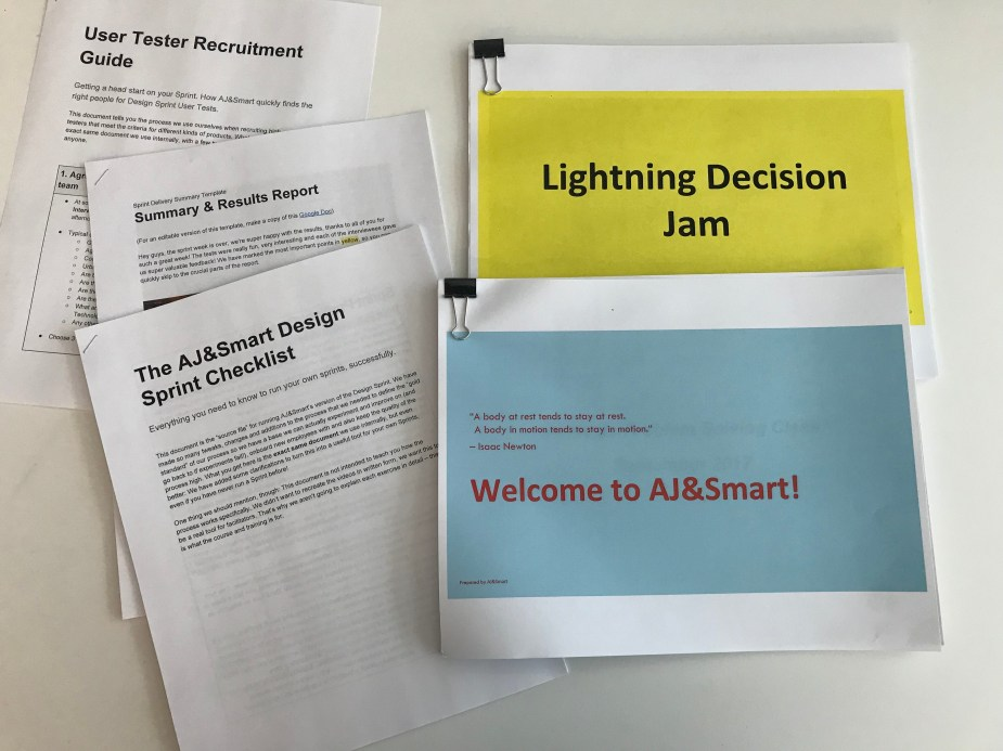 AJ&Smart Downloadable Resources