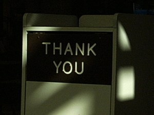 Favors can get you more than just a thank you