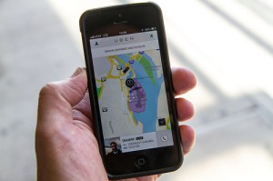 Uber is a mobile application that lets you summon a ride