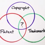 What is the difference between a copyright and a trademark?