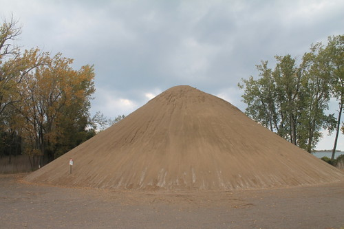 It turns out that there's too much sand for fracking