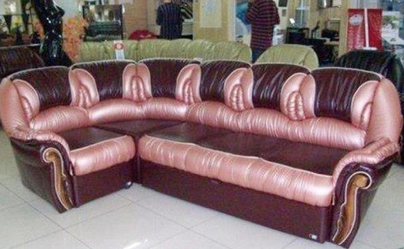Accidental Vagina Couch