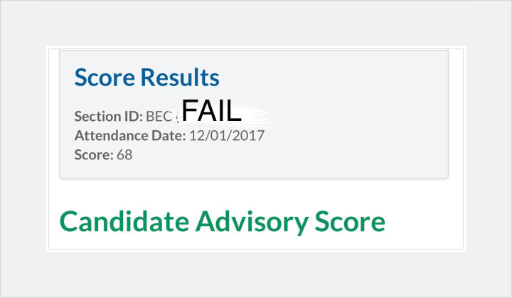 Overcoming CPA Exam Failure