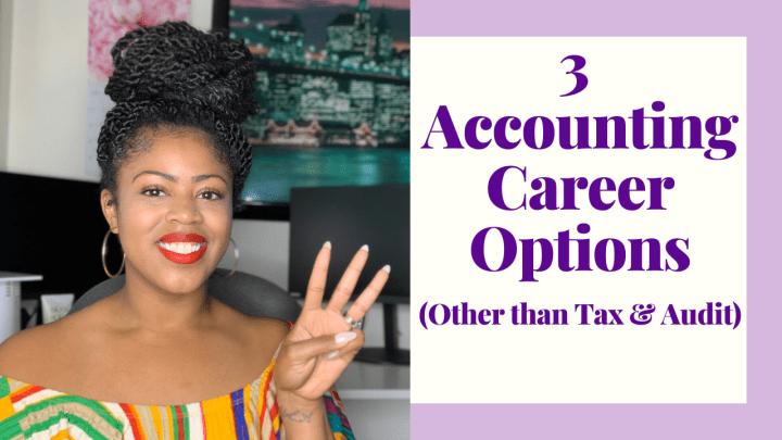 Three Accounting Career Ideas