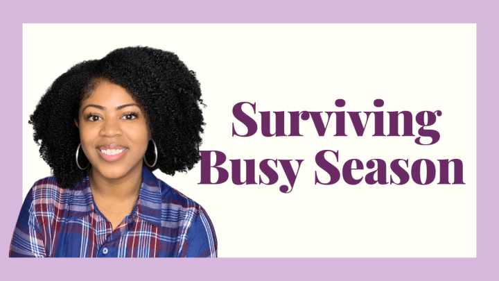 Tips for A Successful Busy Season