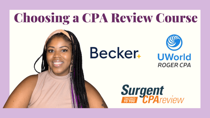 CPA Review Course Comparisons