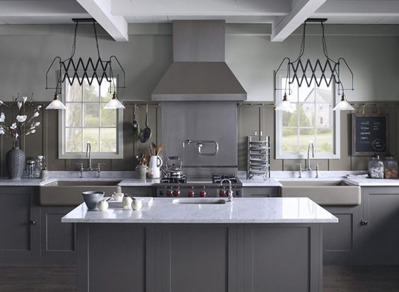 Our Picks:: 10 Timeless Grays For The Kitchen