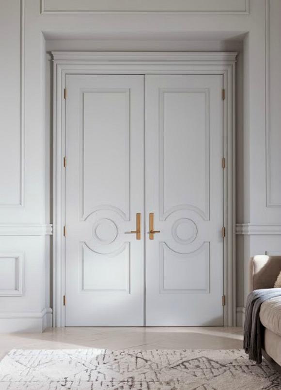 Door details...#architecturaldetail #moldings #doors #metrie