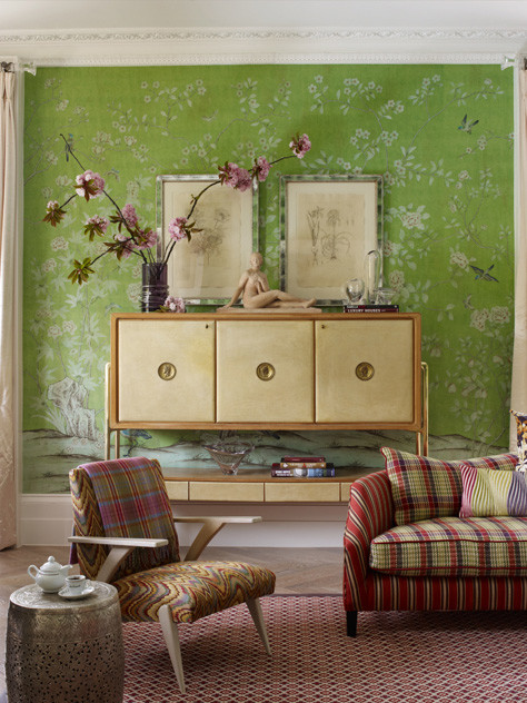 Ken Fulk :: A Glimpse Behind the Magic Curtain #murals #livingrooms #kenfulk