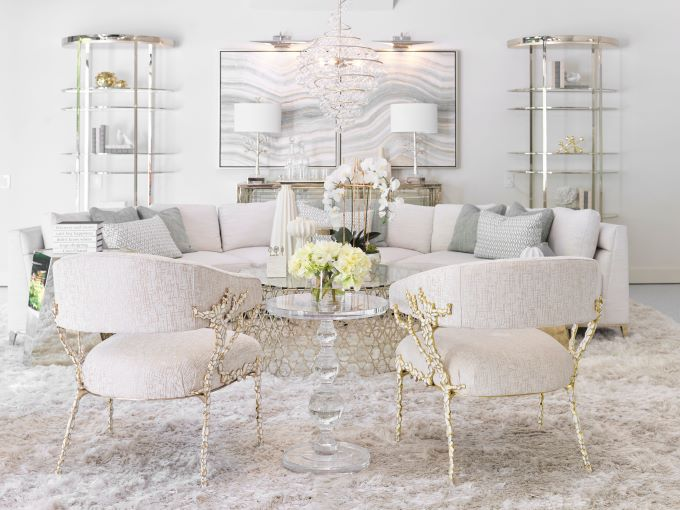 southeastern showhouse, luxury interior design, atlanta designers, living room inspiration