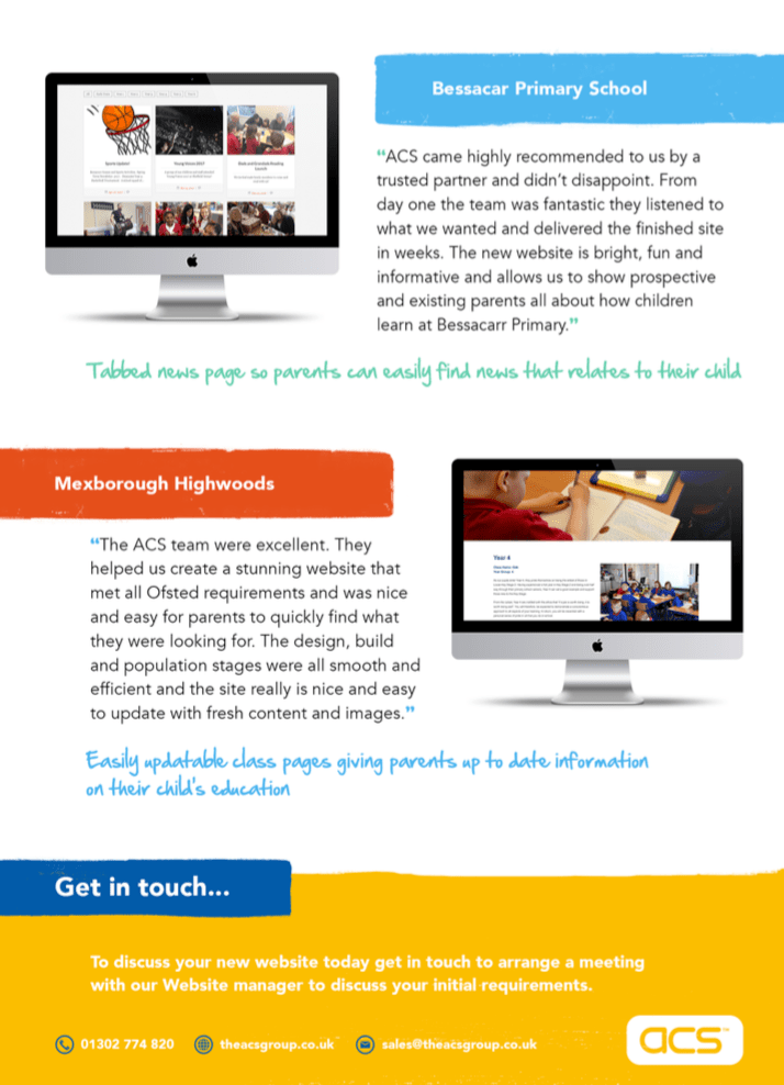The Acs Group Leading Ict Specialists School Website Design Acs Group