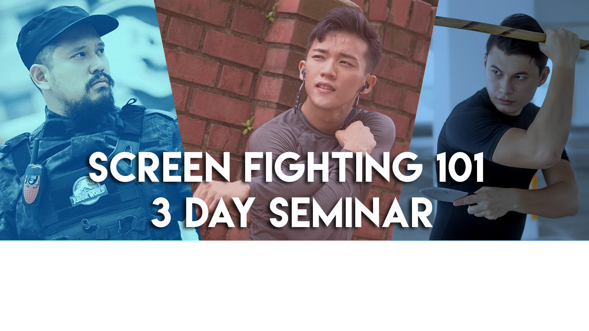 Peps Goh Fight Design Screen Fighting 101