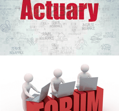 Actuarial Forums are just the beginning, indeed a step forward.