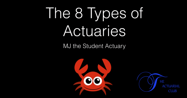 types of actuaries and Actuarial work they perform