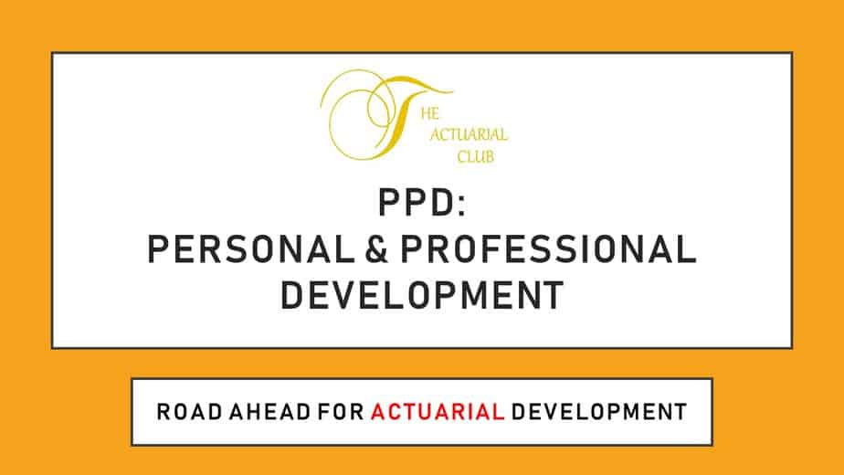 Personal and Professional Development (PPD) IfoA Requirements