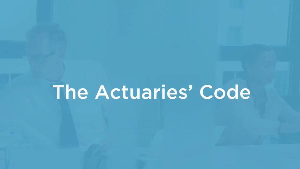 The Actuaries' code