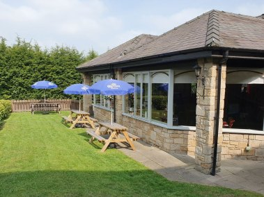 Beer Garden, The Adam and Eve, Restaurant and Bar, Prudhoe