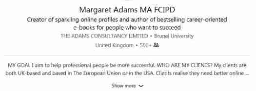 Margaret Adams