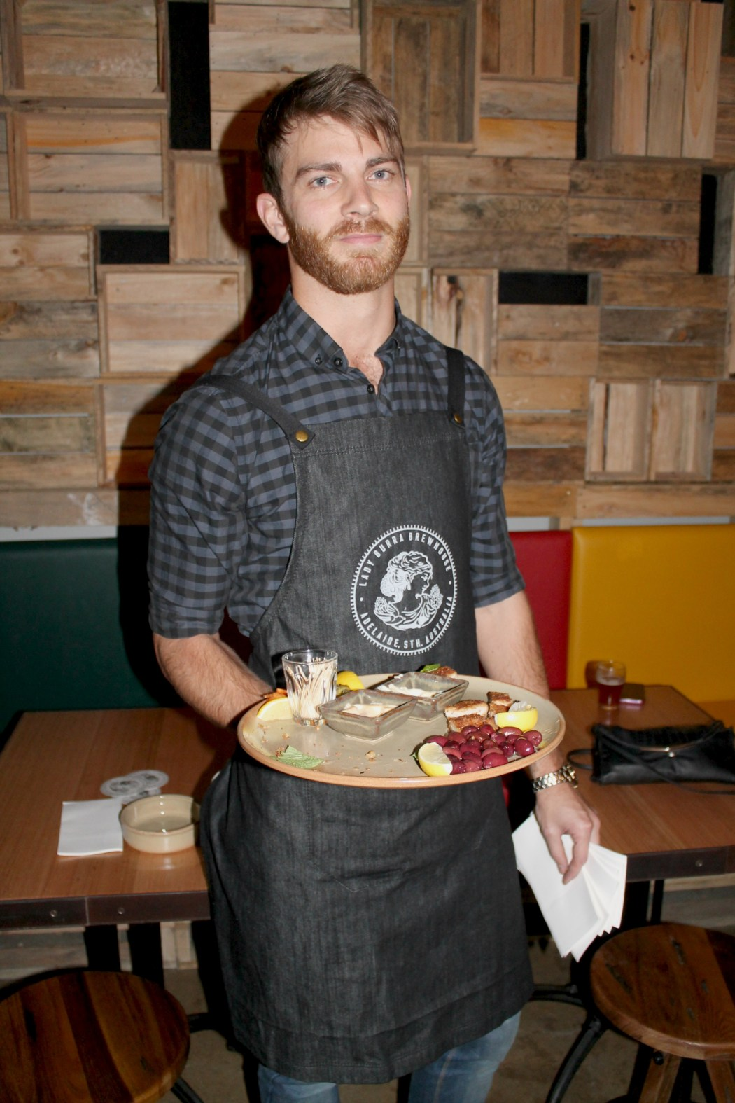 Delicious cured meats and platters courtesy of