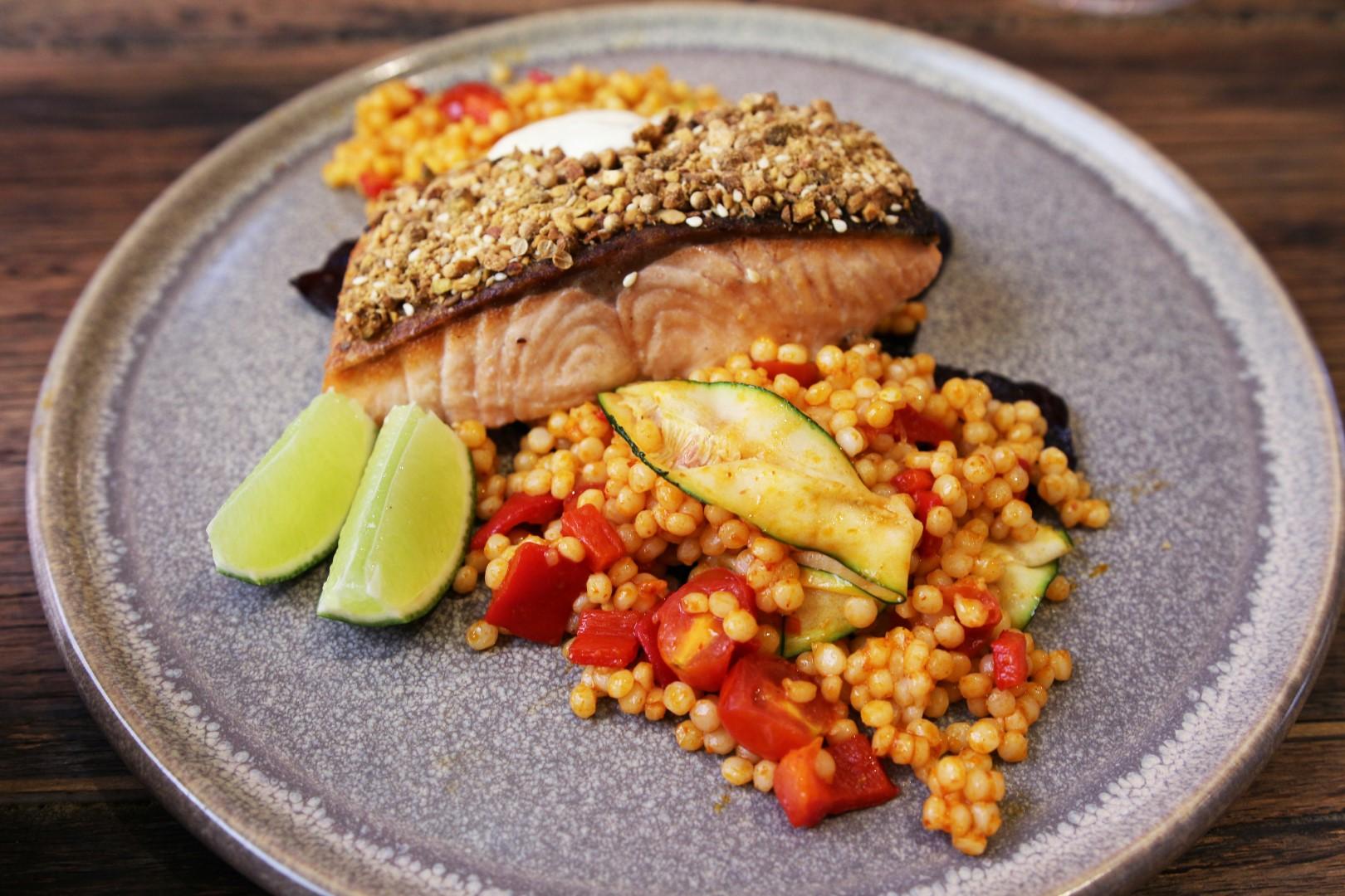 Dukkah Crusted Salmon